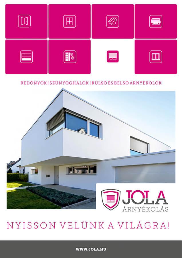 JOLA - Árnyékolás prospektus