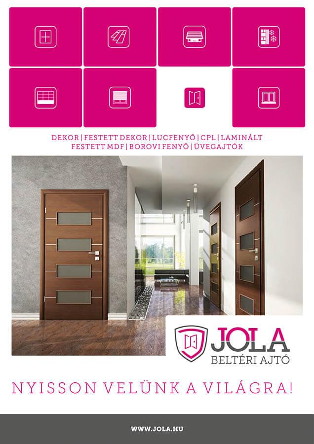 JOLA - Beltéri ajtó prospektus