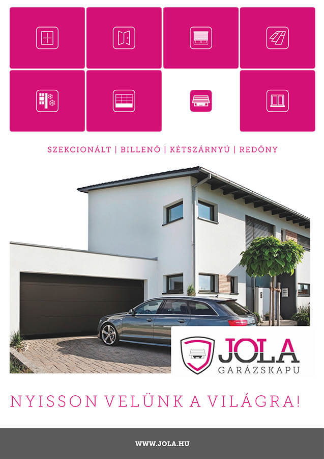 JOLA - Garázskapu prospektus