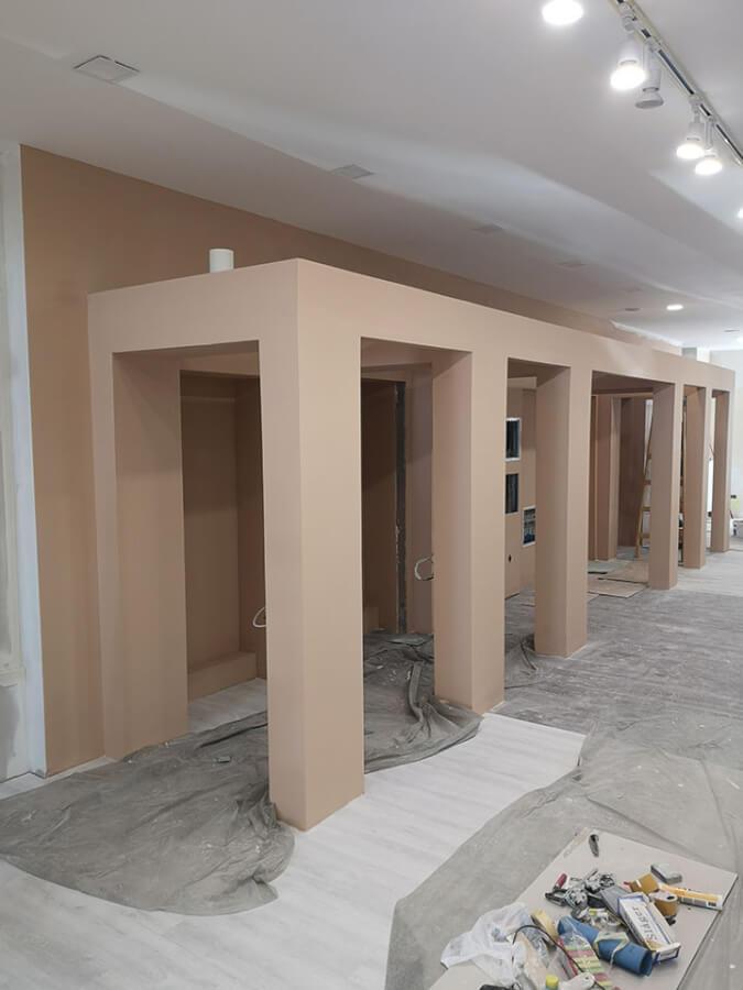 Jola új debreceni bolt - bemutatóterem kialakítása