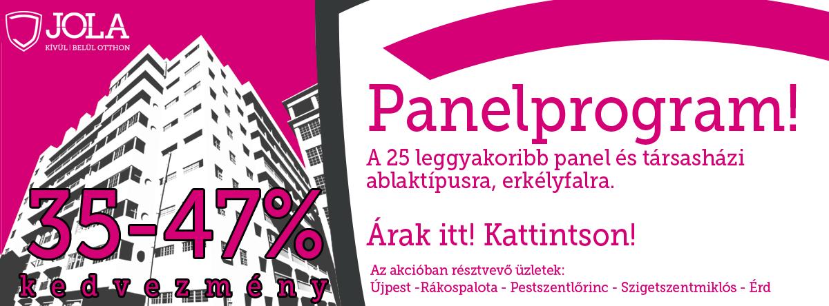 Panelprogram!